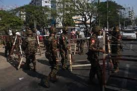 After pressuring telecom firms, Myanmar's junta bans executives from  leaving | Arab News