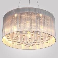 fascinating diy drum shade chandelier with cover mp silk lamp pendant shades