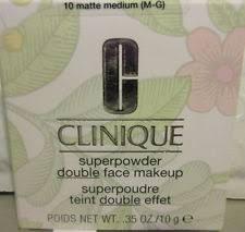 clinique superpowder double face makeup 10 matte um new in box