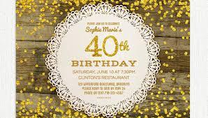 40th Birthday Invitations Free Templates 26 40th Birthday Invitation Templates Psd Ai Free