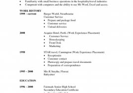 Nanny Resume Skills New Nanny Resume Template Free Cv Uk Word And ...