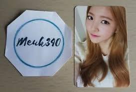 Red Velvet Yeri Ice Cream Cake Photocard Ebay