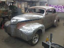 Chopped & Dropped 1940 Chevy 2 door sedan Customized Progress ...