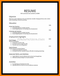 Student Resume Examples First Job Best Sample Student Resume