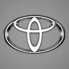 toyota logo black background. Modren Toyota Shape Of The Toyota Symbol With Logo Black Background D
