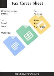 Ready To Use Google Docs Fax Cover Sheet Free Fax