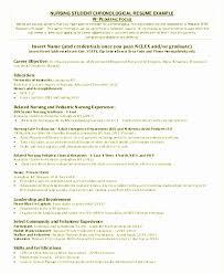 Writing A Nursing Resume New Nursing Resume Examples The Proper How To Write A Resumer Best How