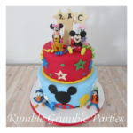 Mickey Mouse Cakes Also Mickey Mouse Birthday Cake Also 1st Birthday
