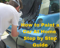 how to spray paint a car how to paint a car at home how