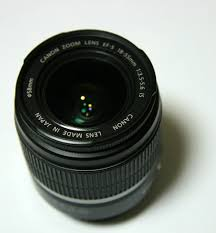 Canon EF-S 18–55mm lens