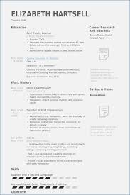 40 Child Care Resumes Samples Proposal Spreadsheet Awesome Childcare Resume