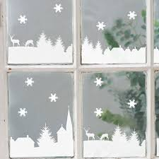 interesting ideas for christmas windows decor with best 25