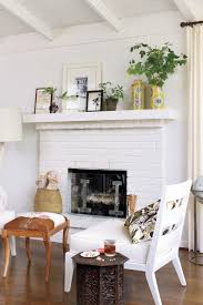 Small Picture 25 Cozy Ideas for Fireplace Mantels Southern Living