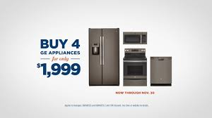 Ge Appliance Service Center Ge Appliances Black Friday Savings Event Buy 4 Ge Appliances For