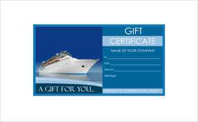 Cruise Gift Certificate Template 9 Travel Gift Certificate Templates Doc Pdf Psd Free