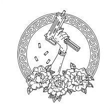 Bshgd оружие Logo идеи для татуировок идеи для рисунков и
