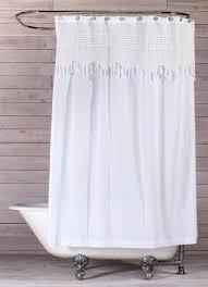white shower curtains. White Shower Curtains