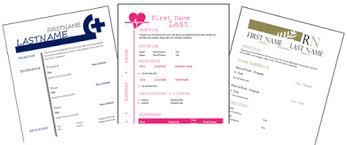 Free Nursing Resume Templates Free Resume Templates 2018