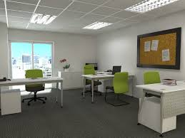 small office furniture. Our Concept Of Small Office Setup With White Color Furniture