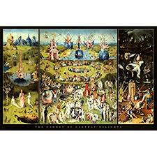 garden of earthly delights poster. (24x36) Hieronymus Bosch Garden Of Earthly Delights Art Print Poster By
