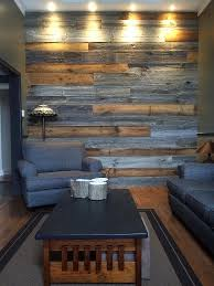 feature wall lighting. Looks Nice That The Colour Picks Up On Furniture And Lighting Accents Texture Of Wood. Reclaimed Brown Barn Board Feature Wall