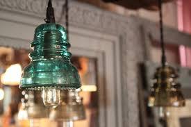 reclaimed lighting. Reclaimed Barn Wood Beam Chandelier, Vintage Insulator Lights Lighting