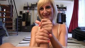 Handjob and blowjob video