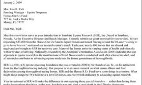 How To Write A Grant Application Cover Letter Grant