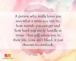 40 Of The Best Love Is Blind Quotes For Lovers Impressive Love Is Quotes