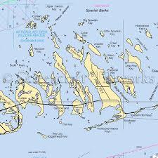 Florida Nautical Chart Decor
