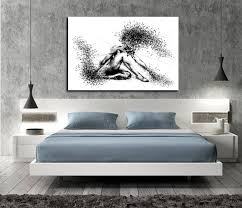 Delightful Sensual Wall Art Bedroom