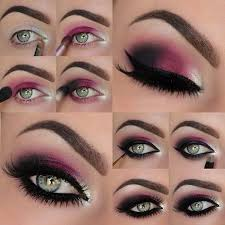 makeup ideas for prom dark red violet eye makeup these are the best makeup