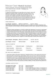 Medical Transcriptionist Resume Sample Medical Resume Samples ...