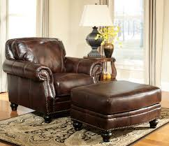nice ideas leather chair and ottoman accent chairs with ottoman lane leather chair and ottoman
