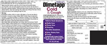 Dimetapp Dosage Chart By Weight Unique Dimetapp Dosage Chart