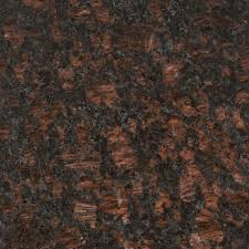 granite countertop sample in tan brown