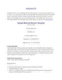 sample cv of waiter resume builder sample cv of waiter sample cvs and tips formats and templates resume skills and abilities waitress
