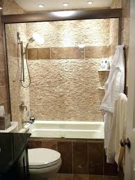 showers bath shower combo ideas on bathroom best tub bathtub awesome tile with glass doors and
