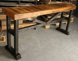 barn board furniture plans. Barn Board Furniture Plans Trestle Console Table By Intended For Remodel 0 .