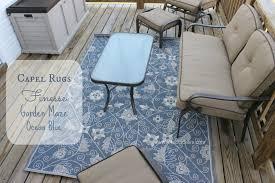 patio makeover outdoor area rug