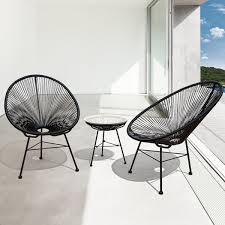 modern wicker patio furniture. Wonderful Patio Sarcelles Modern Wicker Patio Chairs By Corvus Set Of 2 And Furniture H