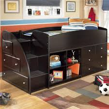 twin storage bed. Beautiful Bed Twin Storage Beds For Kids Signature Design By Ashley Embrace Loft Bed  With Bookcase NBZHXKZ Intended Twin Storage Bed E