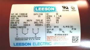 wiring diagram leeson motor wiring diagram cloud