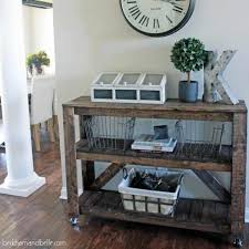 make this diy console table with only 30 in lumber