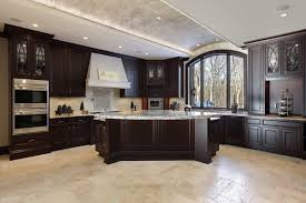 sunrise kitchen bath and more chocolate cabinets with light granite countertops shutterstock copy careers black white