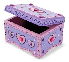 Melissa And Doug Decorate Your Own Jewelry Box Amazon Melissa Doug DecorateYourOwn Wooden Jewelry Box 7
