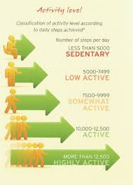 Activity Level Chart Keeping Fit For Retirement By Simply Stepping Out Retire Notes