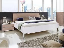 Ausstellungsstück Shanghai Schlafzimmer Bett 180x200cm In Alpinweiss