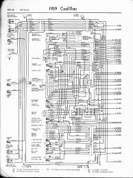 cadillac wiring diagrams 1957 1965 1959 all series left