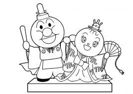 アンパンマン 塗り絵 無料 子供のための無料ぬりえ子供 印刷可能な